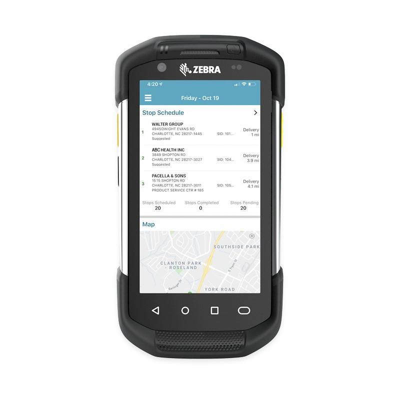 Pack 50 Batteries antibactérien haute capacité pour MC55, 3600 mAh